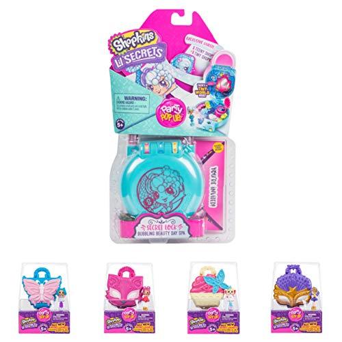 Shopkins Lil' Secrets Secret Lock Mini Playset Day Spa Lil'