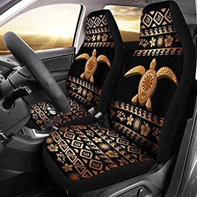 1 PCS Car Front High Back Bucket Seat Cover Washable Fabric Zebra Print Styling