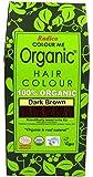 Radico Organic Hair Color (Dark Brown), 100g