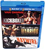 Blu-Ray Triple Feature with Kickboxer, Warrior & Haywire 3-movie value pack + Digital HD