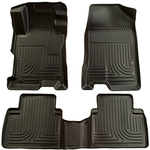 Husky Liners Front & 2nd Seat Floor Liners Fits 07-12 Altima 4 Door (Altima Nissan Computer)