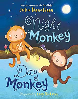 book cover of Night Monkey, Day Monkey