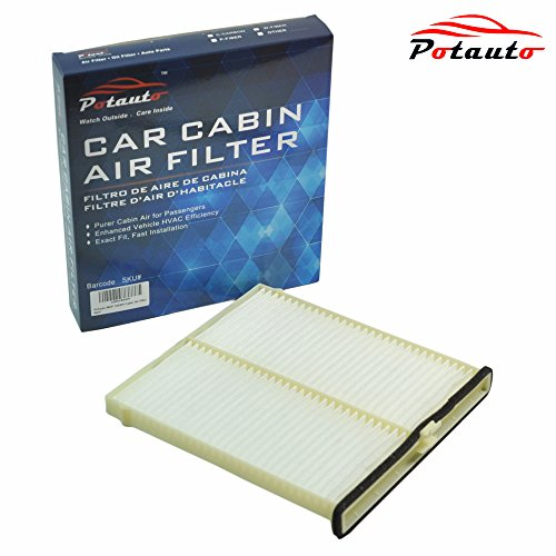 POTAUTO MAP 1048W Cabin Air Filter Replacement compatible - 2014 Mazda 3 Cabin Air Filter
