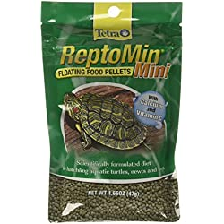 Tetra ReptoMin Mini Floating Pellets (1 Bag), 1.66 oz