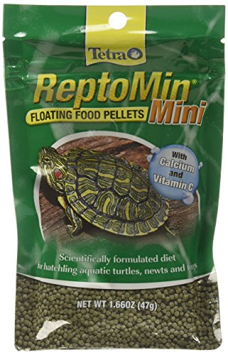 Tetra ReptoMin Mini Floating Pellets (1 Bag), 1.66 oz