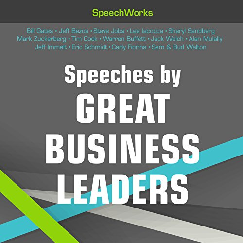 Speeches by Great Business Leaders Audiobook [Free Download by Trial] thumbnail