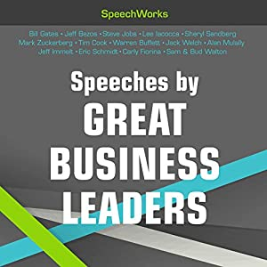 Speeches by Great Business Leaders Speech
