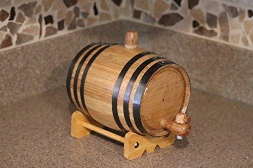1-Liter American White Oak Barrel Whiskey Kit by Deep South Barrels (Image #2)