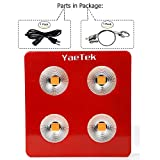 YaeTek 800W/1200W/1800W Full Spectrum COB LED Grow Light System Panel Lamp Indoor Flower Veg Plant Yard Garden (800W)