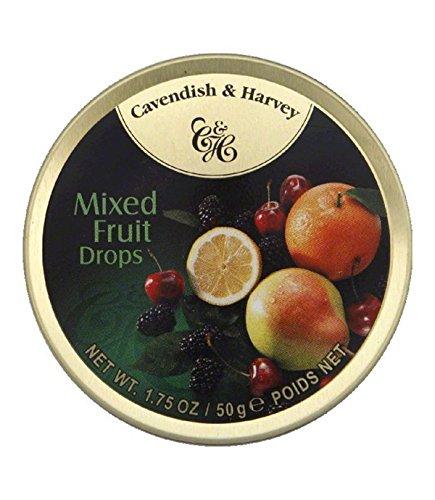 Cavendish & Harvey Mixed Fruit Drops 1.75 ounce (Pack of 6)