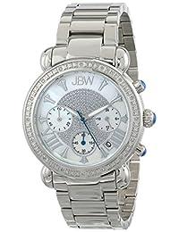 """JBW Women's JB-6210-D """"Victory"""" Pearl Stainless Steel Diamond Watch"""