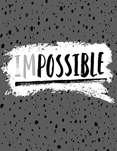 Download Impossible: Daily Journal Log Book Large ebook
