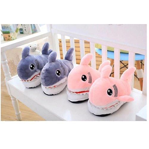 À Maison Requin Coton Mignonnes Rose De La Fat Rabbit Pantoufles UX8xqYn