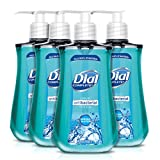 Dial Antibacterial Liquid Hand Soap, Spring Water, 9.375 Ounce (Count of 4)