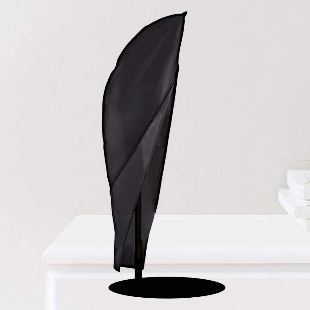 Yardwe Schutzh/ülle f/ür Sonnenschirm Schirm/überz/üge Patio Banana Cantilever Schirm/überzug Wasserdichter Sonnenschirm/überzug f/ür den Au/ßenbereich mit Rei/ßverschluss