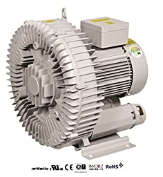 Pacific Regenerative Blower PB-700 (HRB-700), Ring, Side channel, Vacuum Pressure Blowers