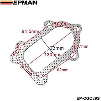 epman -10pcs/lot para Toyota MR2 Celica GT4 CT26 3s-gte aluminio grafito