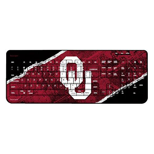 Oklahoma Sooners Wireless USB Keyboard NCAA