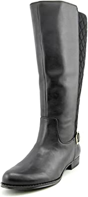 Women Black Leather Boots