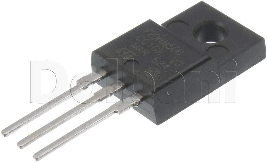 Power Field-Effect Transistor STF20NM50D ST Microelectronics
