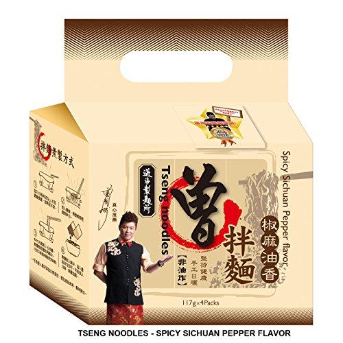 Tseng Noodles Spicy Sichuan Pepper Flavor, 20.14 Ounce
