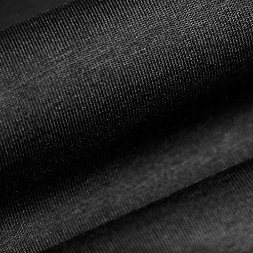 GINOTTIMO MENS PLAIN CREW NECK T-SHIRT, SLIM-FIT SHORT-SLEEVE SHIRTS FOR MEN COTTON