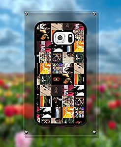 Ultra Thin Galaxy S6 Cute Pearl Jam Band Snap On + Anti Scratch Impact Resistant Customized Funda Case for Samsung Galaxy S6