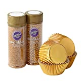 Best Cupcakes - Wilton Sparkle and Shine Gold Cupcake Decorating Set Review