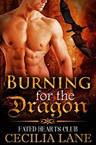 Burning For The Dragon by Cecilia Lane ebook deal