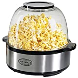 Nostalgia SP660SS 6 Quart Stainless Steel Popcorn Maker Review