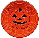 "Fiestaware Halloween Luncheon Plate (9"") - Spooky Pumpkin"