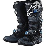 Troy Lee Designs Tech 7 TLD Alpinestars Men's Off-Road Boots - Black/Gray / 13