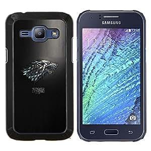 SKCASE Center / Funda Carcasa protectora - El invierno se acerca;;;;;;;; - Samsung Galaxy J1 J100