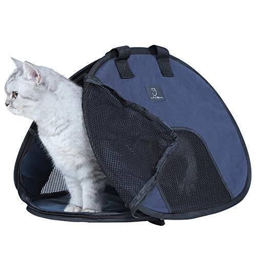 A4Pet Super Lightweight Collapsible Cat Carrier for Travel, 19 x 15 x 13 Inches