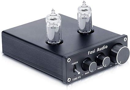 HiFi MM Phono Preamplificatore Mini Vacuum Tube Preamp Stereo Audio Phono Stage Amp