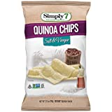Simply7 Gluten Free Quinoa Chips, Salt and Vinegar, 3.5 Ounce (Pack of 12)
