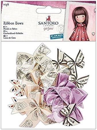 Santoro Gorjuss Scrapbooking Embellishments One Size Multi-Colour