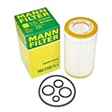 Mercedes-Benz Engine Oil Filter Fleece Mann-Filter OEM HU71 8/5X (Pack of 2)