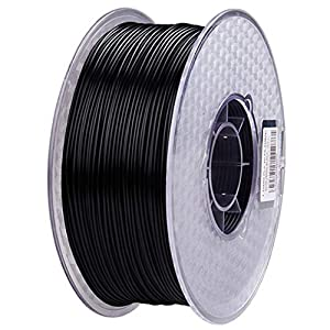 3D Printing Filament 1.75mm, PLA Printing Filament 1kg, Suitable for 3D Printers and Printers,no Bubbles no Plugs, Multiple Colors (Color : Black) 32
