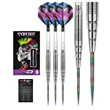 Red Dragon Peter Wright Snakebite PL15 Tungsten Steel Darts with Flights, Shafts & Red Dragon Checkout Card