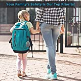 Personal Alarm Siren Song - 130dB Safesound Personal Alarm Keychain with LED Light, Emergency Self Defense for Women , Kids & Elderly. Security Safe Sound Rape Whistle Safety S