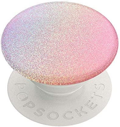 PopSockets PopGrip - Expanding Stand and Grip with Swappable Top - Rainbow Flare