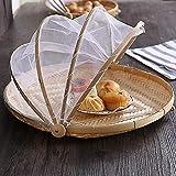 Hand-Woven Food Serving Tent Basket, Fruit