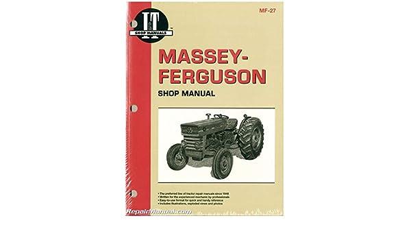 MF 27 Massey Ferguson MF135 MF150 MF165 Tractor Manual