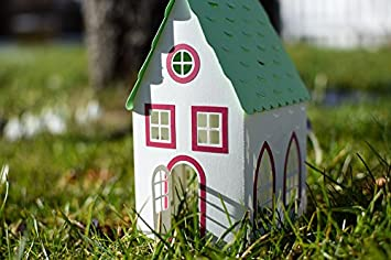 Amazon com: Laminated Poster Paper House Model Toy Cottage