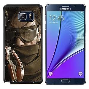 YiPhone /// Prima de resorte delgada de la cubierta del caso de Shell Armor - Solid Snake - Samsung Galaxy Note 5 5th N9200