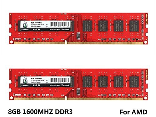 2800 DDR3 1600MHz DIMM For AM3 AM3+ 990FX 990X 970 For AMD CPU Motherboard ()