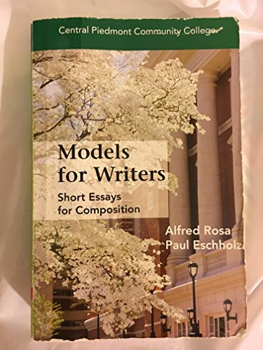 Models for Writers (Models For Writers compare prices)