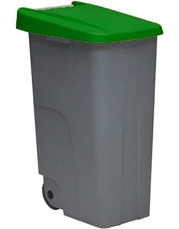 Jardin202 - Contenedor DENOX Eco 110 litros Tapa Verde