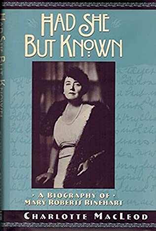 book cover of Had She but Known